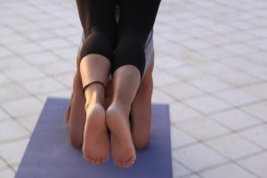 Vinyasa yoga Groningen sirsasana