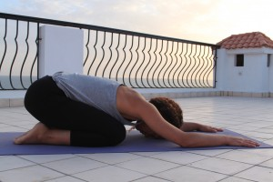 Yoga Groningen balasana