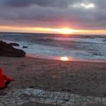 sunset sintra sasja yoga groningen vakantie